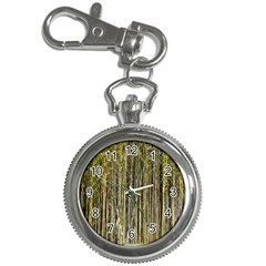 Bamboo Trees Background Key Chain Watches