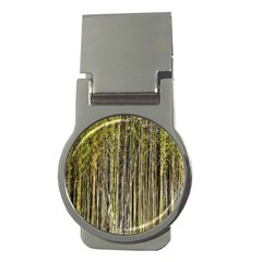 Bamboo Trees Background Money Clips (Round)