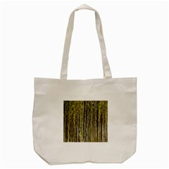 Bamboo Trees Background Tote Bag (Cream)