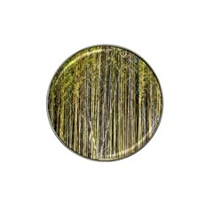 Bamboo Trees Background Hat Clip Ball Marker