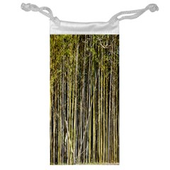 Bamboo Trees Background Jewelry Bag