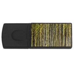 Bamboo Trees Background Usb Flash Drive Rectangular (4 Gb)