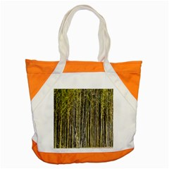 Bamboo Trees Background Accent Tote Bag