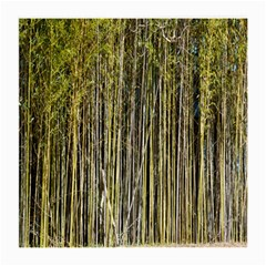 Bamboo Trees Background Medium Glasses Cloth (2-Side)