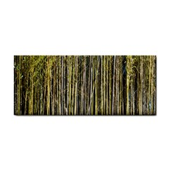 Bamboo Trees Background Cosmetic Storage Cases