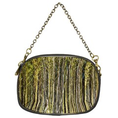 Bamboo Trees Background Chain Purses (Two Sides)