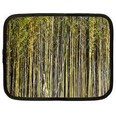 Bamboo Trees Background Netbook Case (XL)