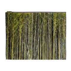 Bamboo Trees Background Cosmetic Bag (XL)