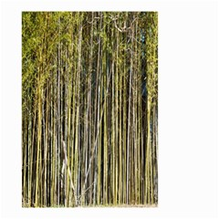 Bamboo Trees Background Small Garden Flag (two Sides)