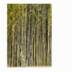 Bamboo Trees Background Large Garden Flag (two Sides)