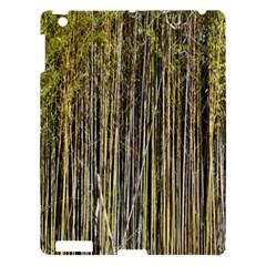 Bamboo Trees Background Apple iPad 3/4 Hardshell Case