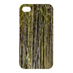 Bamboo Trees Background Apple Iphone 4/4s Premium Hardshell Case