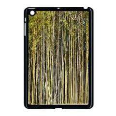 Bamboo Trees Background Apple iPad Mini Case (Black)