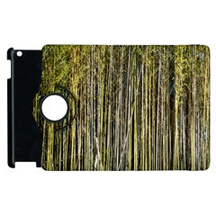 Bamboo Trees Background Apple Ipad 3/4 Flip 360 Case