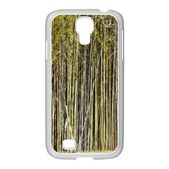 Bamboo Trees Background Samsung GALAXY S4 I9500/ I9505 Case (White)