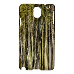 Bamboo Trees Background Samsung Galaxy Note 3 N9005 Hardshell Case