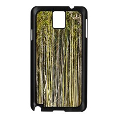 Bamboo Trees Background Samsung Galaxy Note 3 N9005 Case (black)