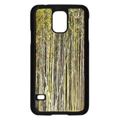 Bamboo Trees Background Samsung Galaxy S5 Case (black)
