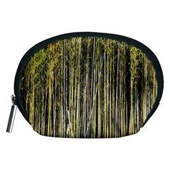 Bamboo Trees Background Accessory Pouches (medium)