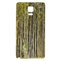 Bamboo Trees Background Galaxy Note 4 Back Case