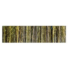 Bamboo Trees Background Satin Scarf (Oblong)