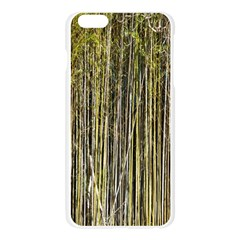 Bamboo Trees Background Apple Seamless iPhone 6 Plus/6S Plus Case (Transparent)