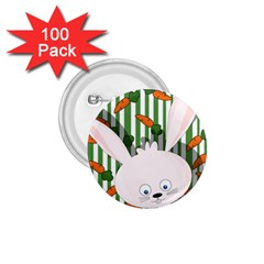 Easter bunny  1.75  Buttons (100 pack)