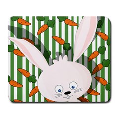 Easter bunny  Large Mousepads