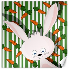 Easter bunny  Canvas 20  x 20