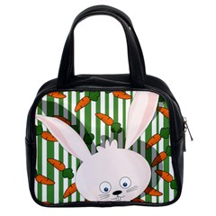 Easter bunny  Classic Handbags (2 Sides)