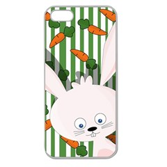 Easter bunny  Apple Seamless iPhone 5 Case (Clear)