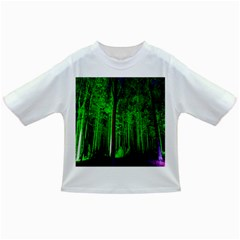 Spooky Forest With Illuminated Trees Infant/toddler T Shirts