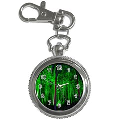 Spooky Forest With Illuminated Trees Key Chain Watches