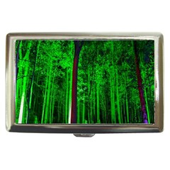 Spooky Forest With Illuminated Trees Cigarette Money Cases