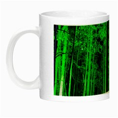 Spooky Forest With Illuminated Trees Night Luminous Mugs