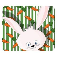 Easter bunny  Double Sided Flano Blanket (Small)