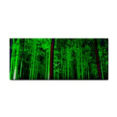 Spooky Forest With Illuminated Trees Cosmetic Storage Cases