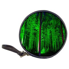 Spooky Forest With Illuminated Trees Classic 20-CD Wallets