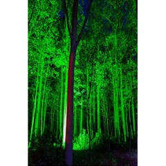 Spooky Forest With Illuminated Trees 5.5  x 8.5  Notebooks