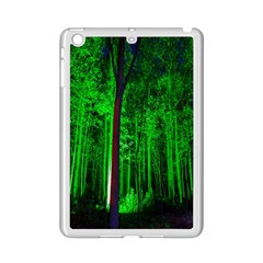 Spooky Forest With Illuminated Trees iPad Mini 2 Enamel Coated Cases