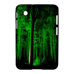 Spooky Forest With Illuminated Trees Samsung Galaxy Tab 2 (7 ) P3100 Hardshell Case