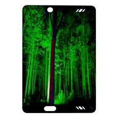 Spooky Forest With Illuminated Trees Amazon Kindle Fire HD (2013) Hardshell Case
