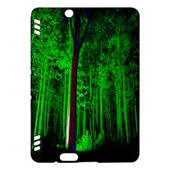 Spooky Forest With Illuminated Trees Kindle Fire HDX Hardshell Case