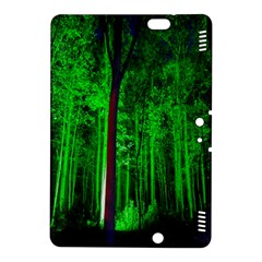Spooky Forest With Illuminated Trees Kindle Fire Hdx 8 9  Hardshell Case