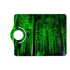 Spooky Forest With Illuminated Trees Kindle Fire Hd (2013) Flip 360 Case