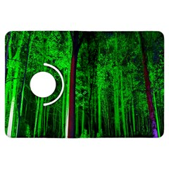 Spooky Forest With Illuminated Trees Kindle Fire HDX Flip 360 Case