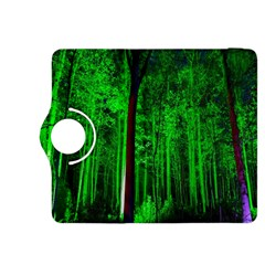 Spooky Forest With Illuminated Trees Kindle Fire HDX 8.9  Flip 360 Case