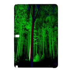 Spooky Forest With Illuminated Trees Samsung Galaxy Tab Pro 10.1 Hardshell Case
