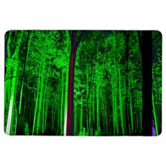 Spooky Forest With Illuminated Trees iPad Air 2 Flip