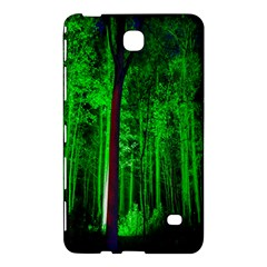 Spooky Forest With Illuminated Trees Samsung Galaxy Tab 4 (7 ) Hardshell Case